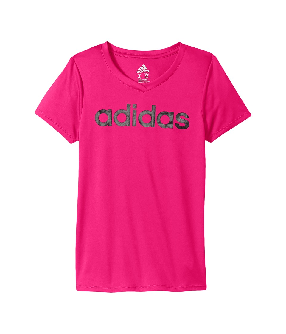 adidas Kids - Short Sleeve V-Neck Top
