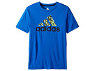 adidas Kids - Clima Badge Of Sport Tee (Big Kids)