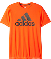 adidas Kids - Clima Badge Of Sport Tee (Big Kids)