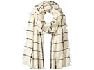 LAUREN Ralph Lauren Windowpane Mohair Blanket Wrap
