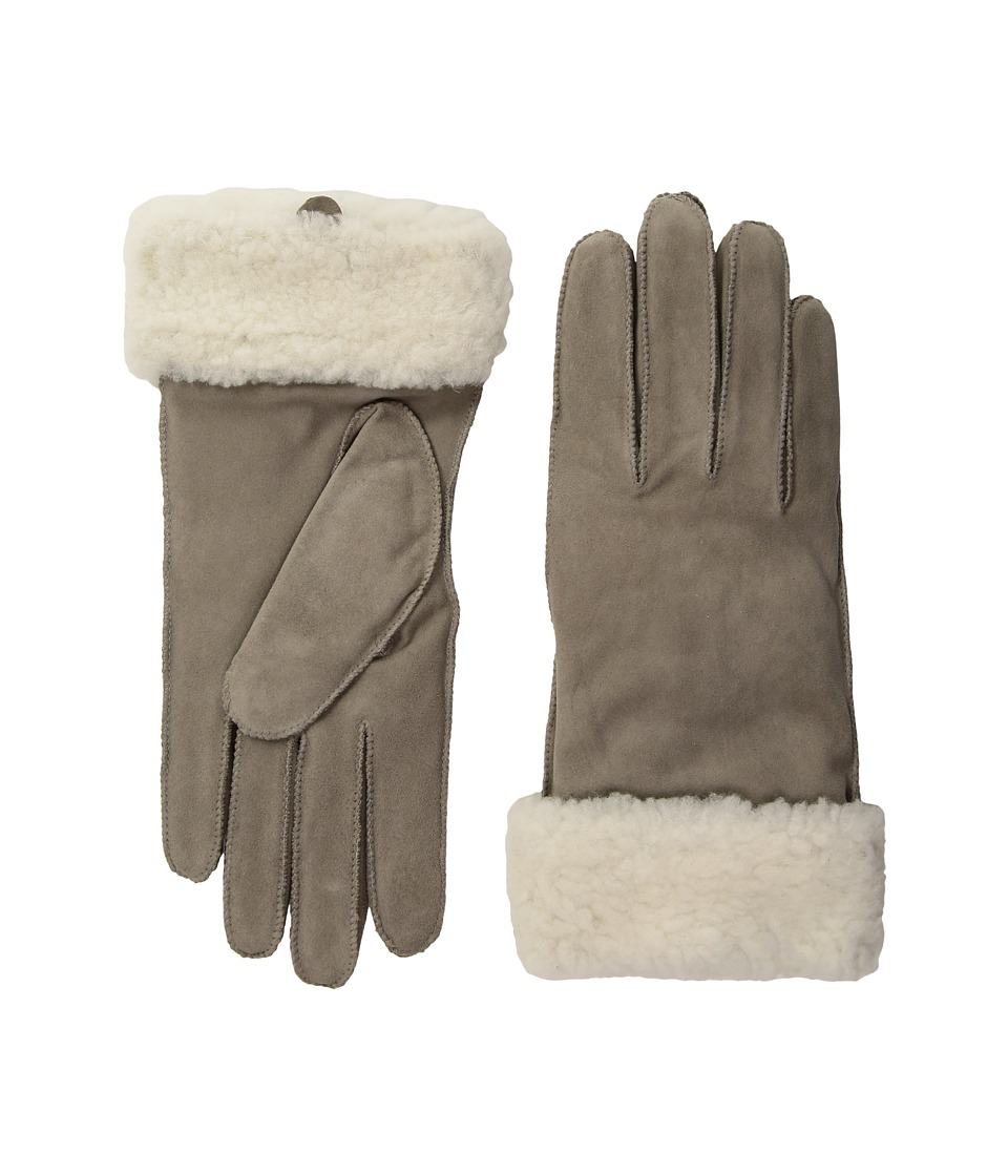 LAUREN Ralph Lauren Shearling Cuff Glove with Thinsulate (Truffle) Dress Gloves