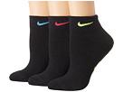 Nike Performance Cushioned Quarter Training Socks 3-Pair Pack