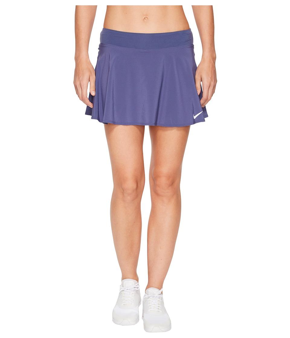 Nike Nike Court Flex Pure Tennis Skirt (Blue Recall/White) Women
