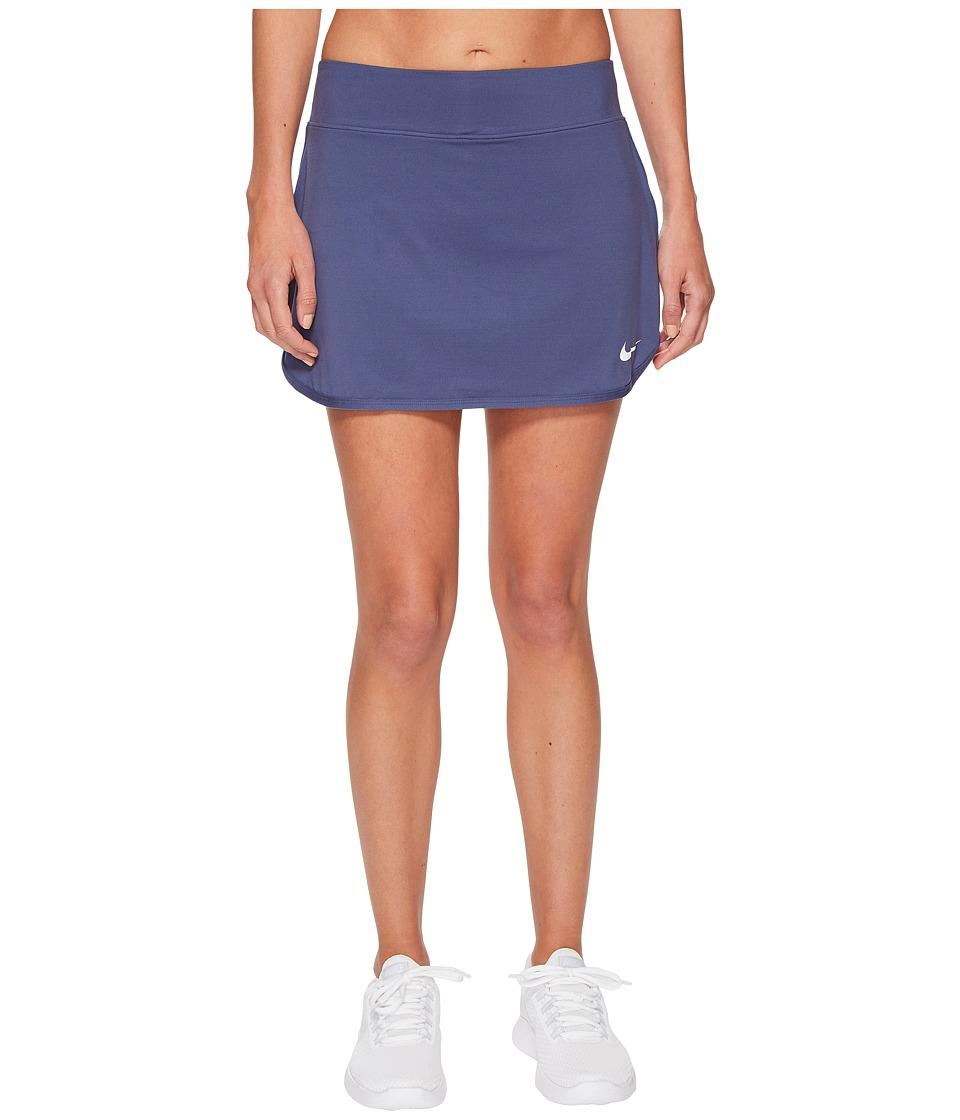 Nike Court Pure Tennis Skirt (Blue Recall/White) Women