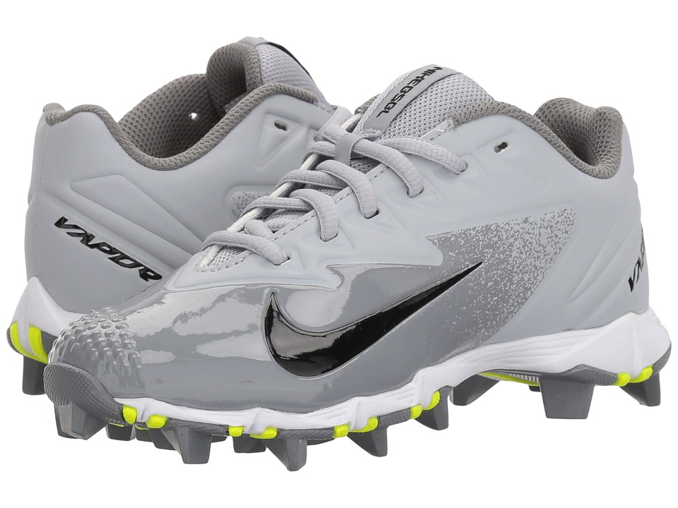 Nike Kids Vapor Ultrafly Keystone Baseball (Toddler/Little Kid/Big Kid) (Wolf Grey/White/Cool Grey/White) Kids Shoes