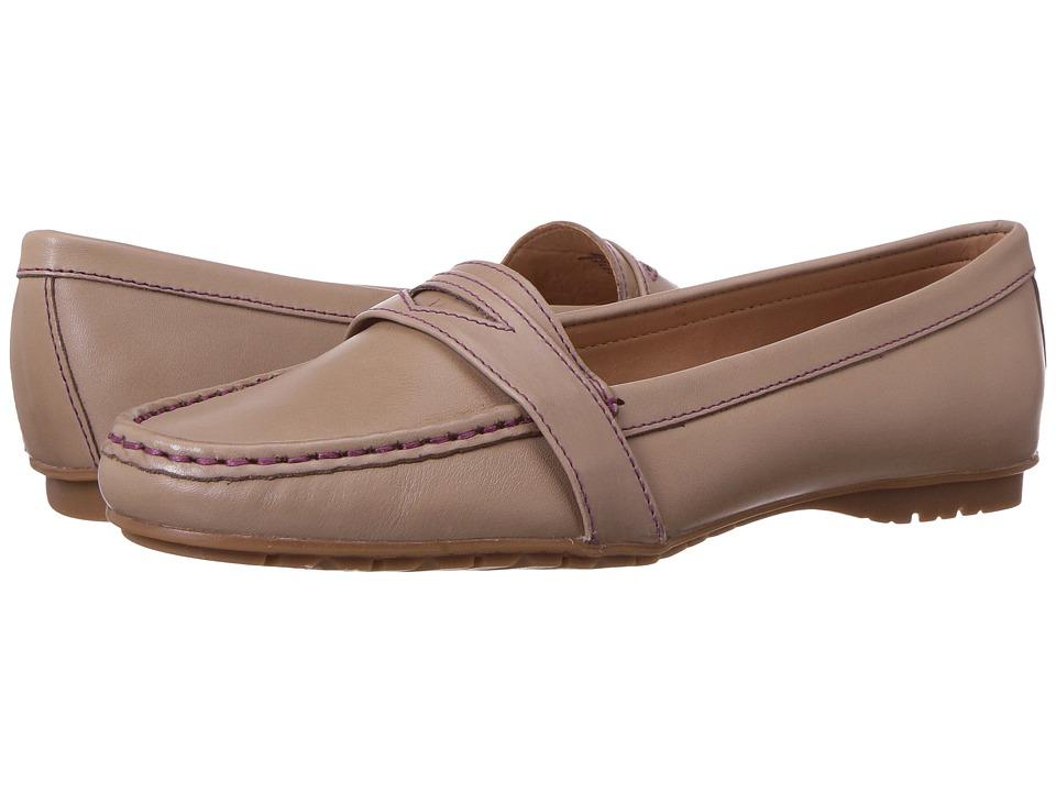 Sebago Meriden Penny (Taupe Leather) Women