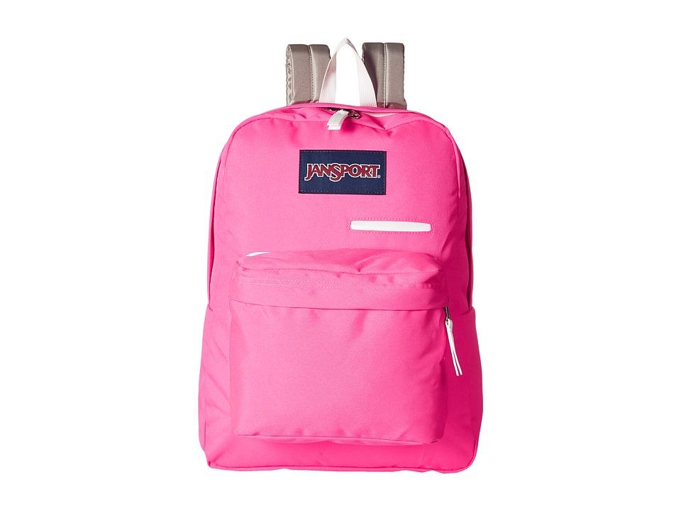 JanSport Digibreak (Prism Pink) Backpack Bags