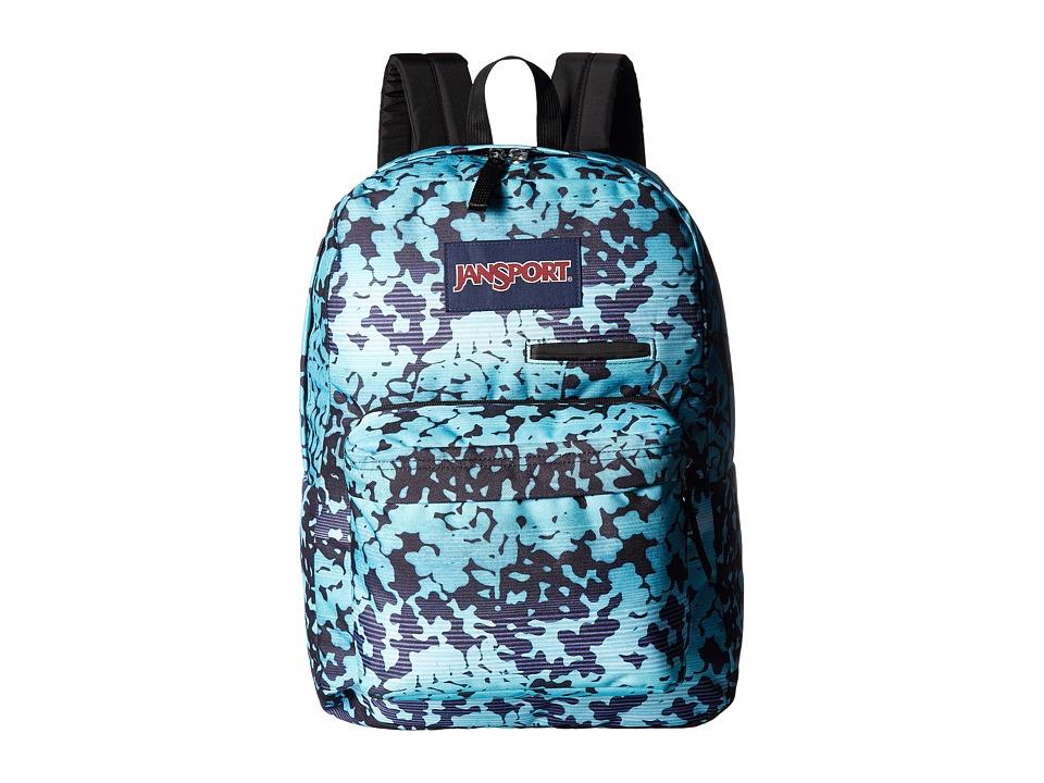 JanSport Digibreak (Floral Shadow) Backpack Bags