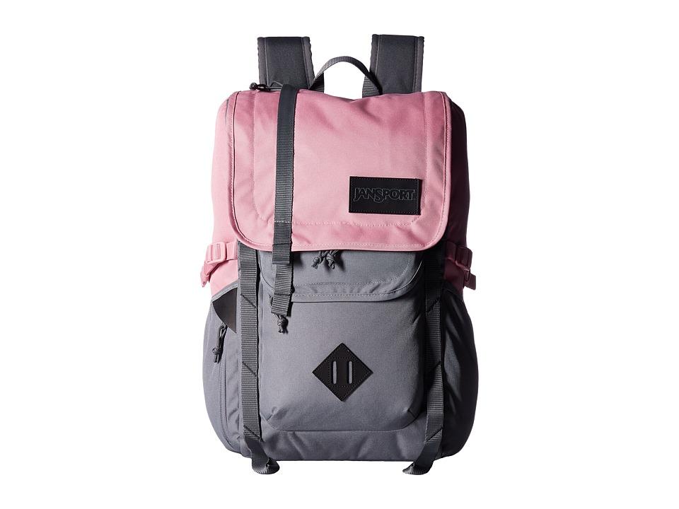 JANSPORT Hatchet Backpack (Vintage Pink) Backpack Bags