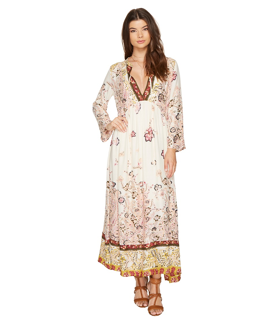 Free People If You Only Knew Midi Dress (Ivory) Women