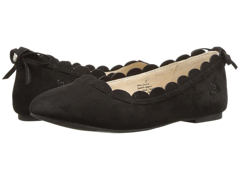 Jack Rogers - Miss Lucie (Little Kid/Big Kid) (Black) Women's Flat Shoes