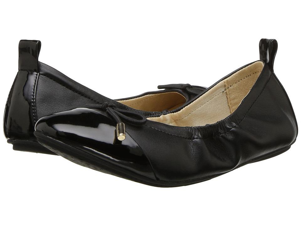 Yosi Samra Kids - Miss Solange (Toddler/Little Kid/Big Kid) (Black/Black) Girls Shoes