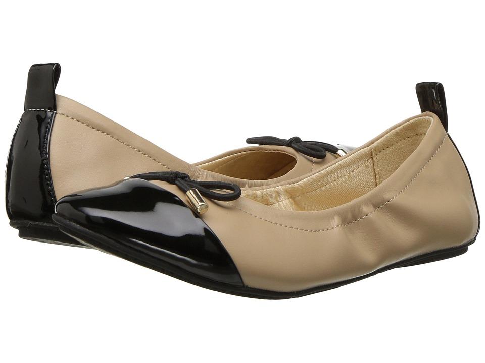 Yosi Samra Kids Miss Solange (Toddler/Little Kid/Big Kid) (Nude/Black) Girls Shoes