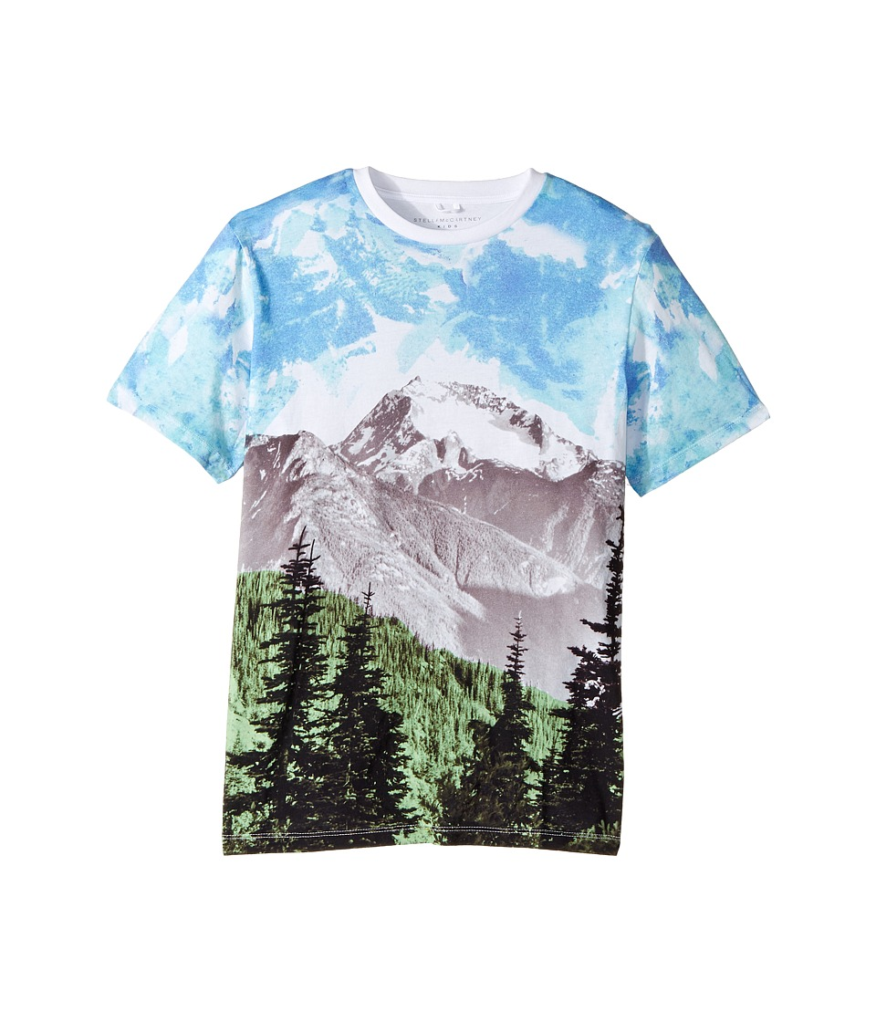 Stella McCartney Kids - Arrow Mountain Landscape Printed T