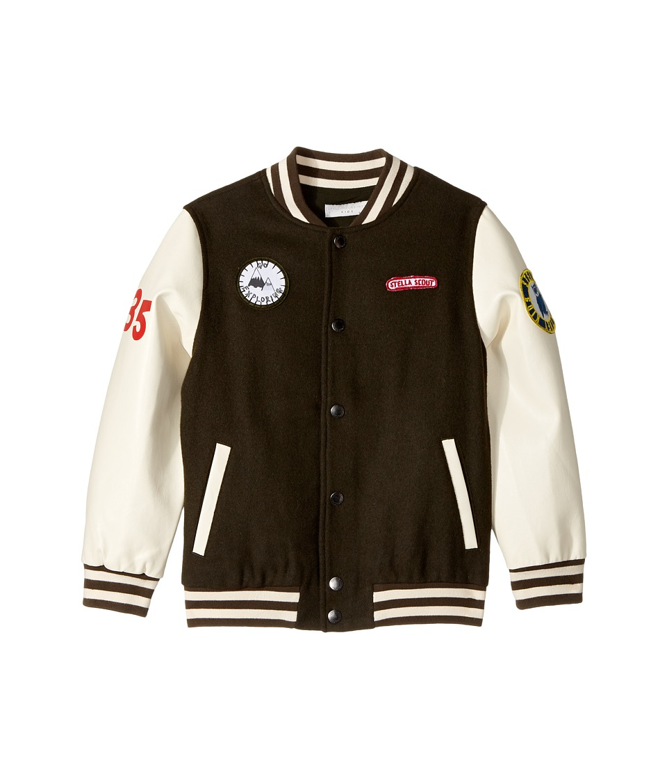 Stella McCartney Kids - Donald Wool Varsity Jacket with P...