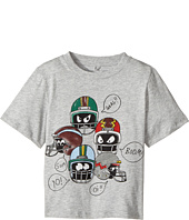 Stella McCartney Kids - Arrow Short Sleeve Helmet Printed Tee with Quote Bubbles (Toddler/Little Kids/Big Kids)