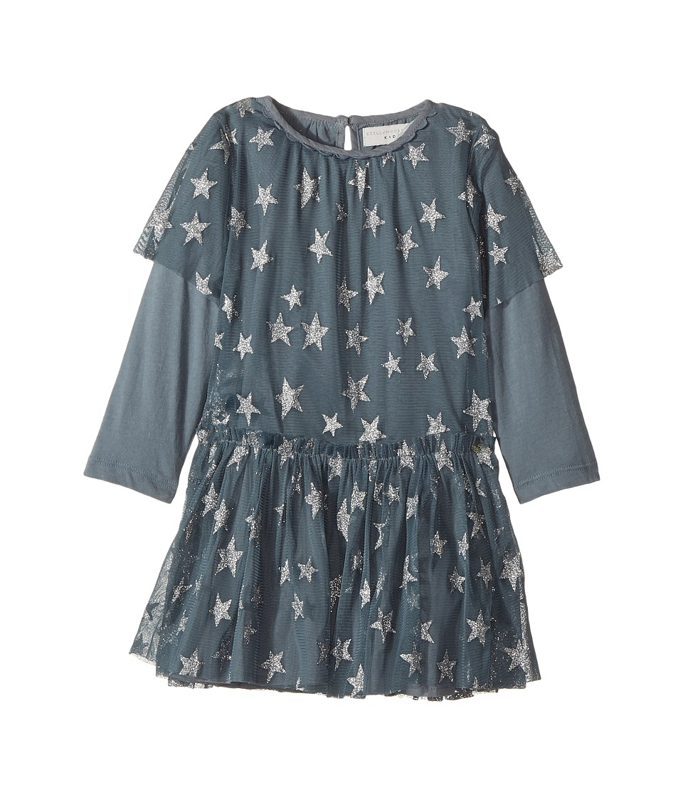 Stella McCartney Kids - Mouse Star Print Tulle Dress