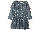 Stella McCartney Kids Mouse Star Print Tulle Dress (Infant)