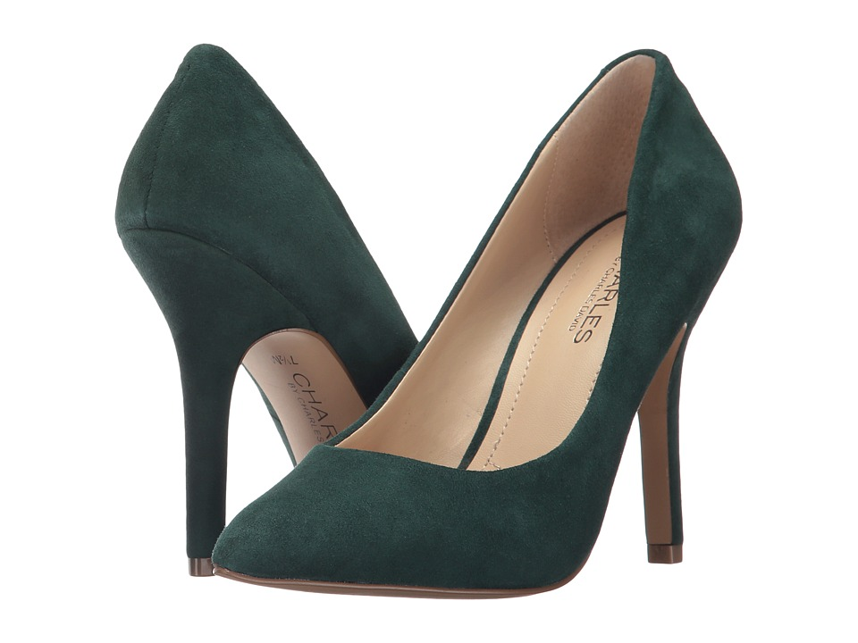 Charles by Charles David Maxx (Forest Green Suede) High Heels