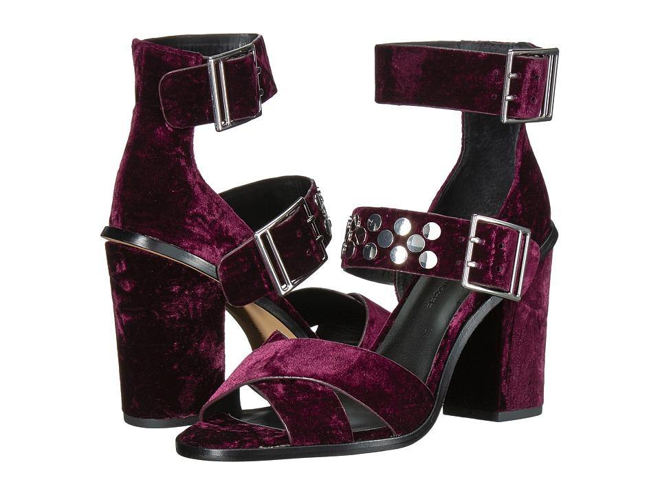 Rebecca Minkoff Jennifer (Acai Velvet) Sandals