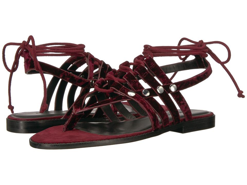 Rebecca Minkoff - Evonne (Acai Velvet) Womens Sandals