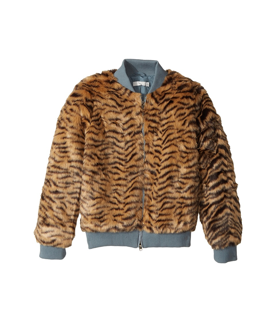 Stella McCartney Kids - Tilly Faux Fur Tiger Print Bomber...
