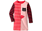 Stella McCartney Kids Stella McCartney Kids Kora Striped Dress w/ Fringe Eyelash Detail (Toddler/Little Kids/Big Kids)