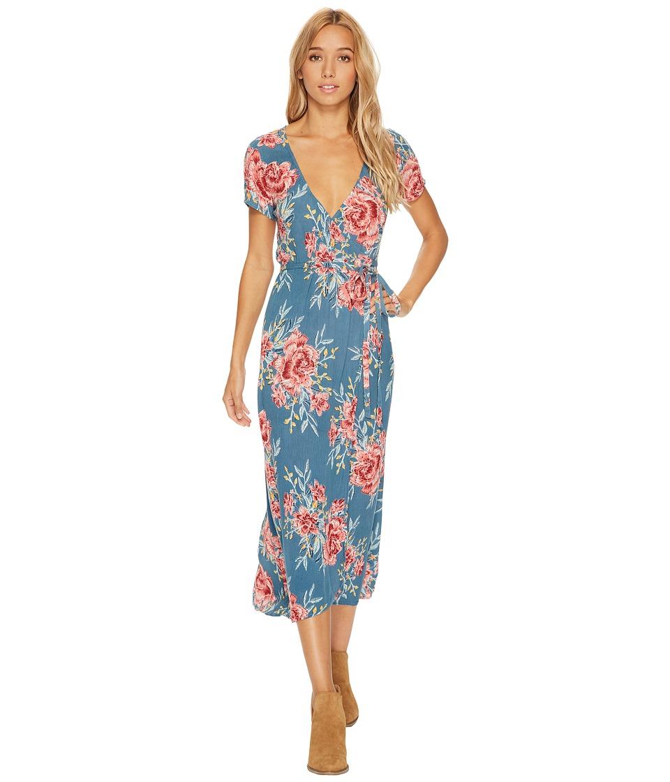 Billabong Wrap Me Up Dress (Lagoon) Women