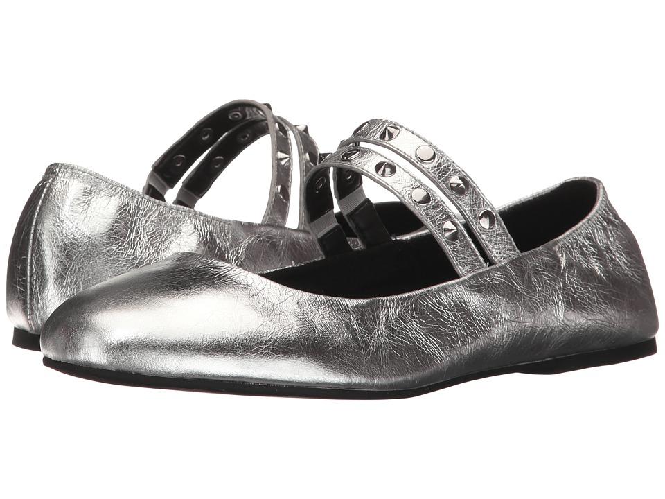 Rebecca Minkoff Lori (Silver Metallic Lamba) Women