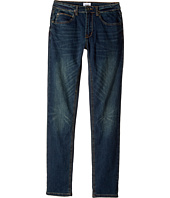 Hudson Kids - Jagger Fit Slim Straight Fit French Terry in Medium Indigo (Big Kids)