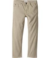 Hudson Kids - Jagger Slim Straight Twill in Kelp (Toddler/Little Kids/Big Kids)