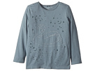 Stella McCartney Kids Bella Swan Stitched T-Shirt with Stars (Toddler/Little Kids/Big Kids)