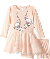 Stella McCartney Kids - Primrose Skate Print Dress w/ Tulle Skirt (Infant)