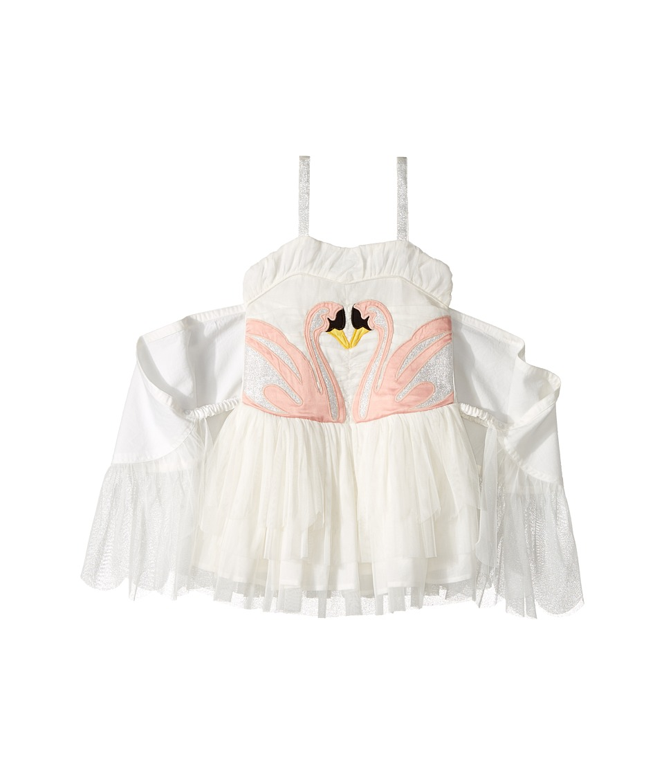 Stella McCartney Kids - Bonny Winged Swan Tulle Dress