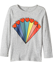 Stella McCartney Kids - Bella Rainbow Hearts Printed Tee (Toddler/Little Kids/Big Kids)