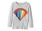 Stella McCartney Kids Bella Rainbow Hearts Printed Tee (Toddler/Little Kids/Big Kids)