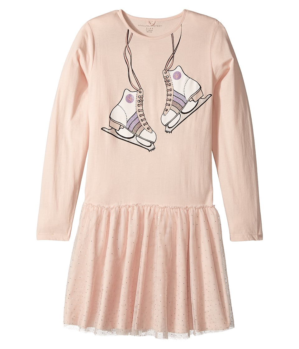 Stella McCartney Kids - Primrose Skate Printed Dress w/ Tulle Skirt