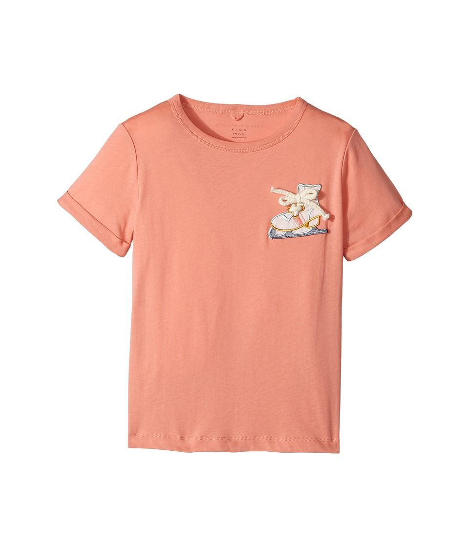 Stella McCartney Kids - Lolly Short Sleeve Tee with Skate Applique