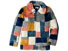 Stella McCartney Kids Abbie Color Block Faux Fur Jacket (Little Kids/Big Kids)