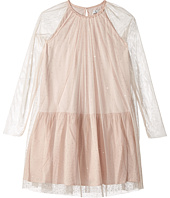 Stella McCartney Kids - Misty Rhinestone Embellished Tulle Dress (Toddler/Little Kids/Big Kids)