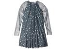 Stella McCartney Kids Misty Star Printed Tulle Dress (Toddler/Little Kids/Big Kids)