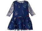 Stella McCartney Kids - Luna Tulle Dress w/ Ice Skate Embroidery (Toddler/Little Kids/Big Kids)