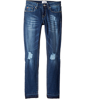 Hudson Kids - Christa Super Stretch in Vintage Blue Wash (Big Kids)