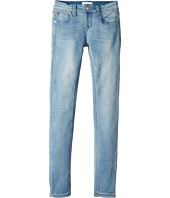 Hudson Kids - Collin Skinny Fit Five-Pocket French Terry in Light Wash (Big Kids)