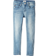 Hudson Kids - Collin Skinny Fit Five-Pocket French Terry in Light Wash (Toddler/Little Kids)