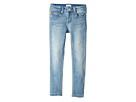 Hudson Kids Collin Skinny Fit Five-Pocket French Terry in Light Wash (Toddler/Little Kids)