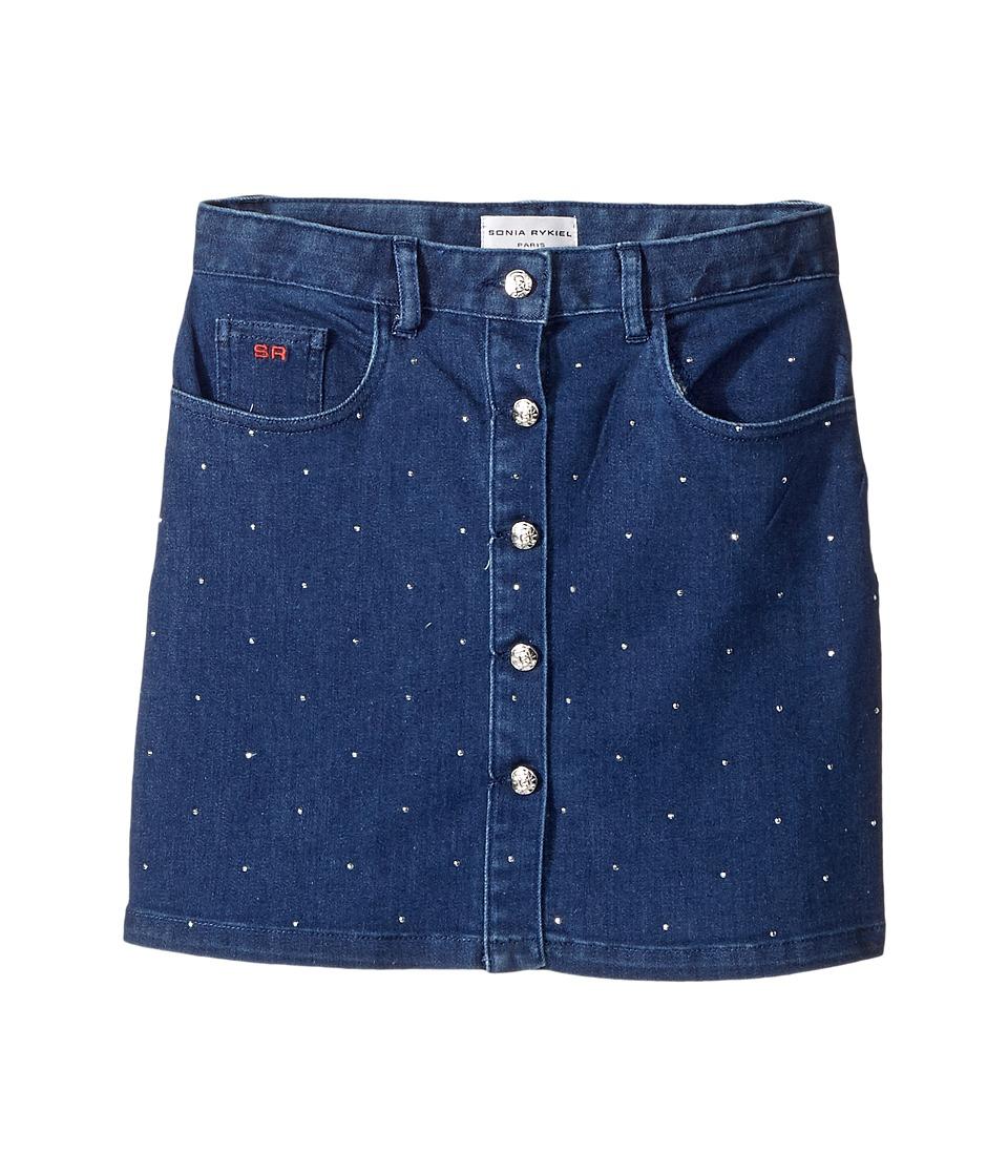 Sonia Rykiel Kids - Embellished Denim Mini Skirt
