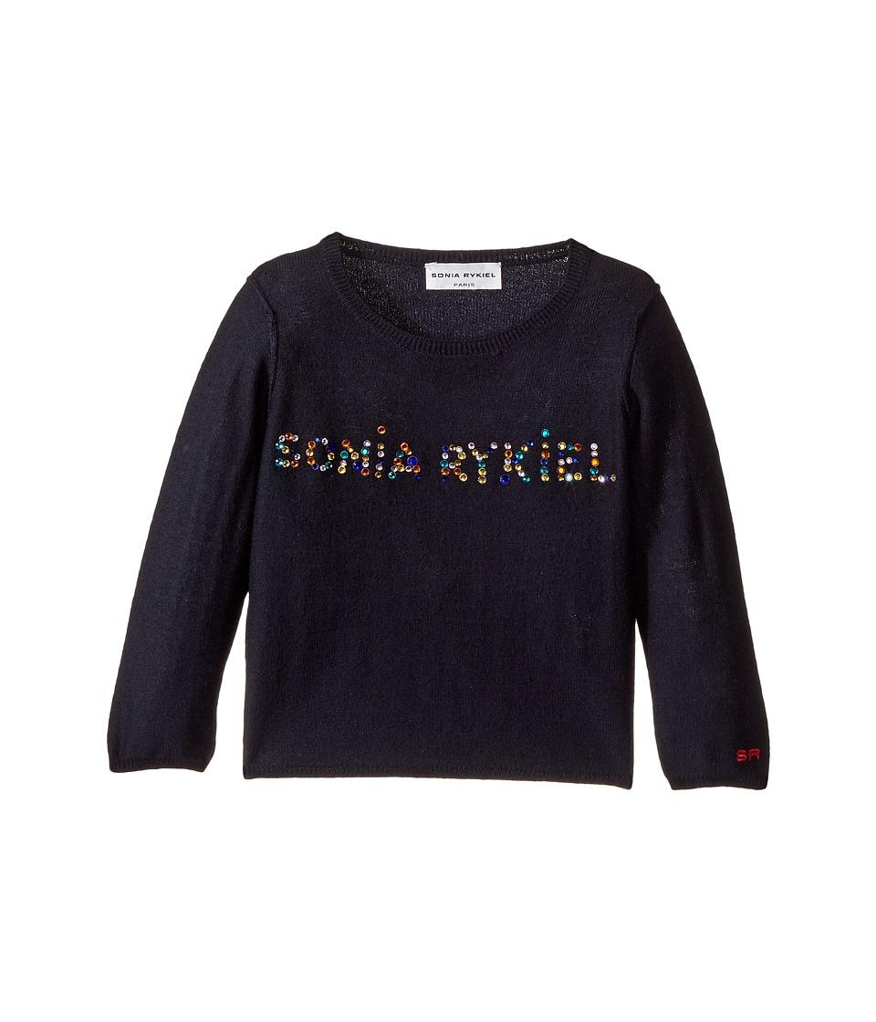 Sonia Rykiel Kids - Long Sleeve Sweater w/ Embellished Logo