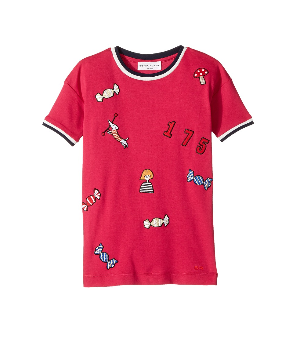 Sonia Rykiel Kids - Short Sleeve Rykiel Motives Patch Dress