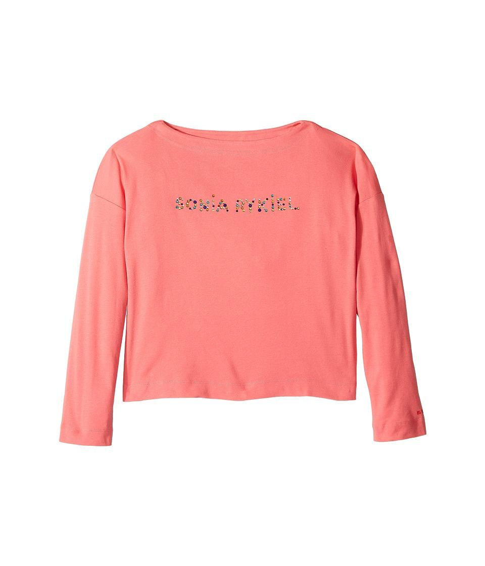 Sonia Rykiel Kids - Long Sleeve Logo T-Shirt